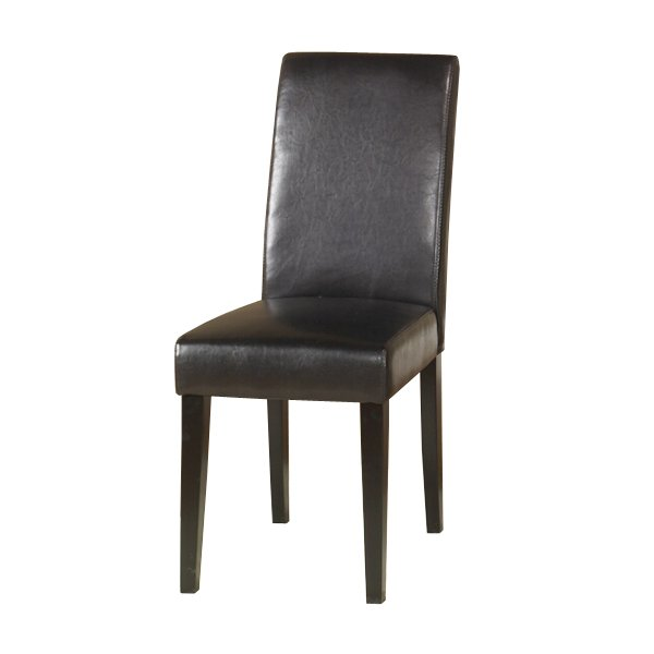BYCAST LEATHER DINING CHAIR