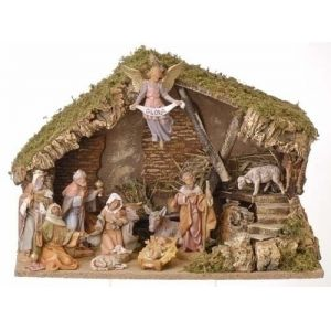 An outdoor nativity stable large outdoor nativity stables outdoor